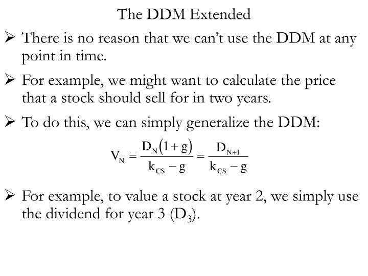 The DDM Extended