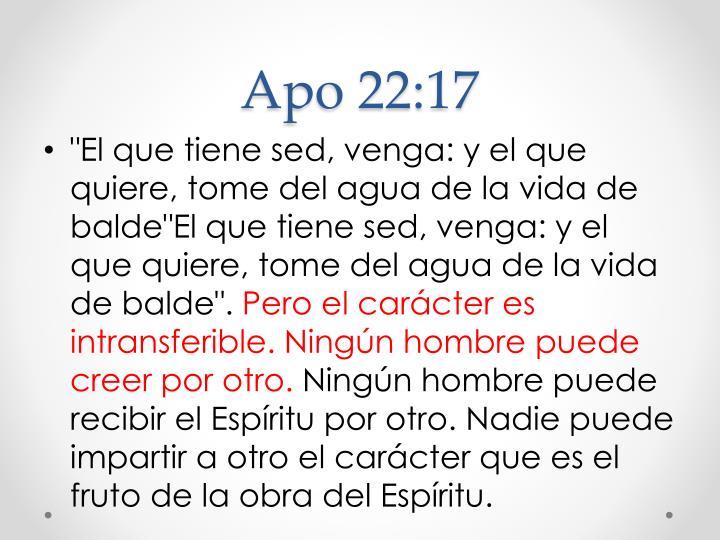 Apo 22:17