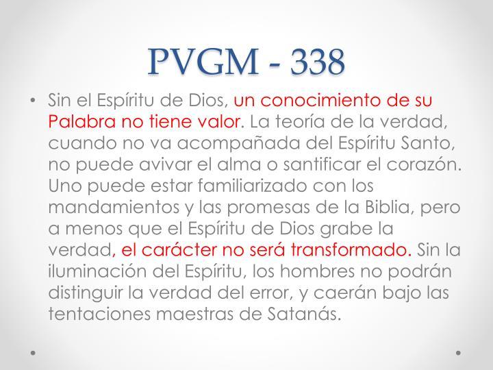 PVGM - 338