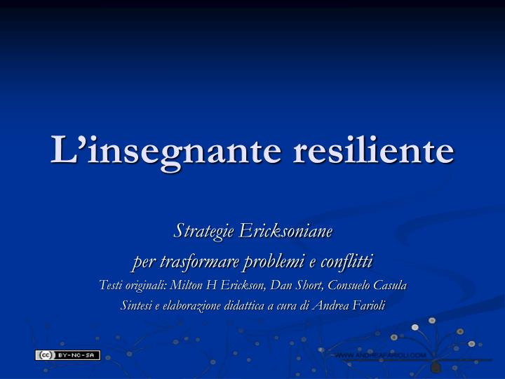 l insegnante resiliente n.