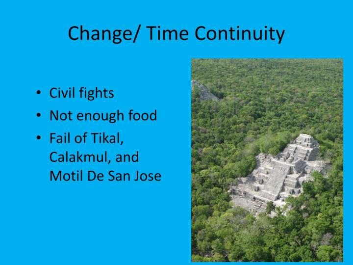 Change/ Time