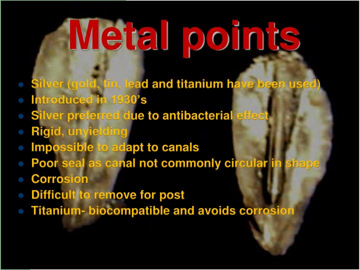 Metal points