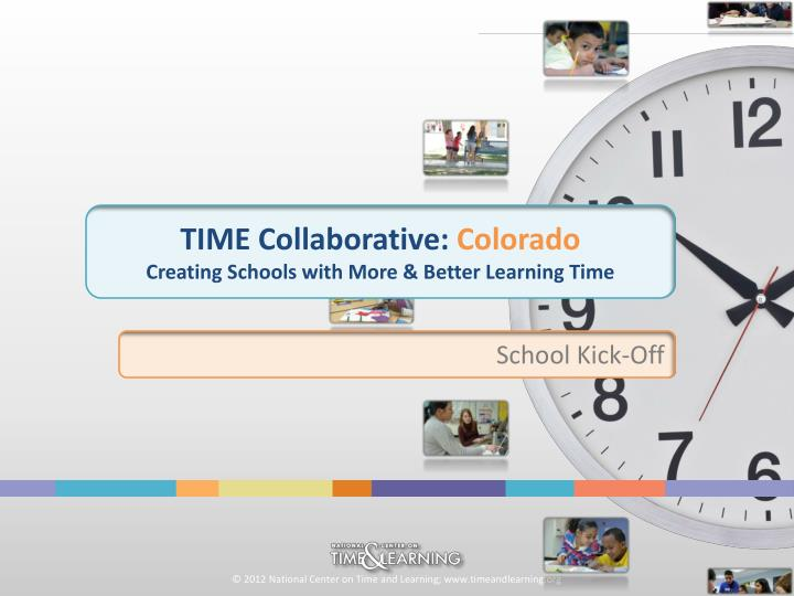 time collaborative colorado creating schools with more better learning time n.