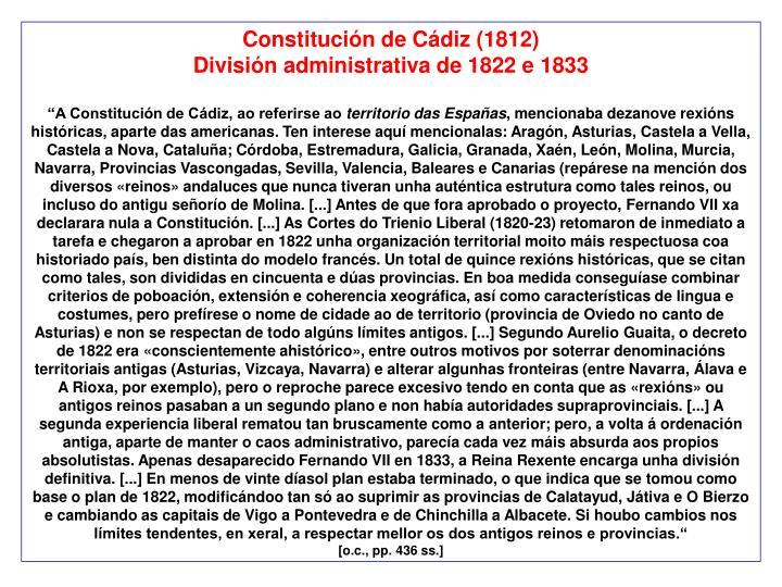 Constitución de Cádiz (1812)