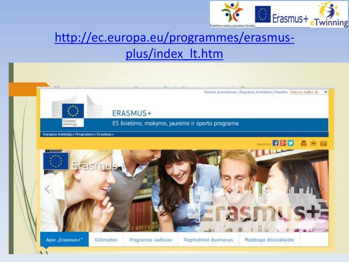 Http ec europa eu programmes erasmus plus index lt htm