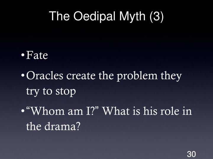 The Oedipal Myth (3)
