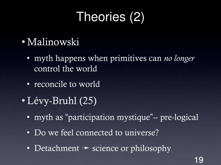Theories (2)