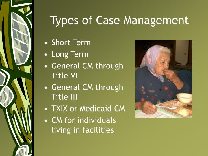Types of Case Management