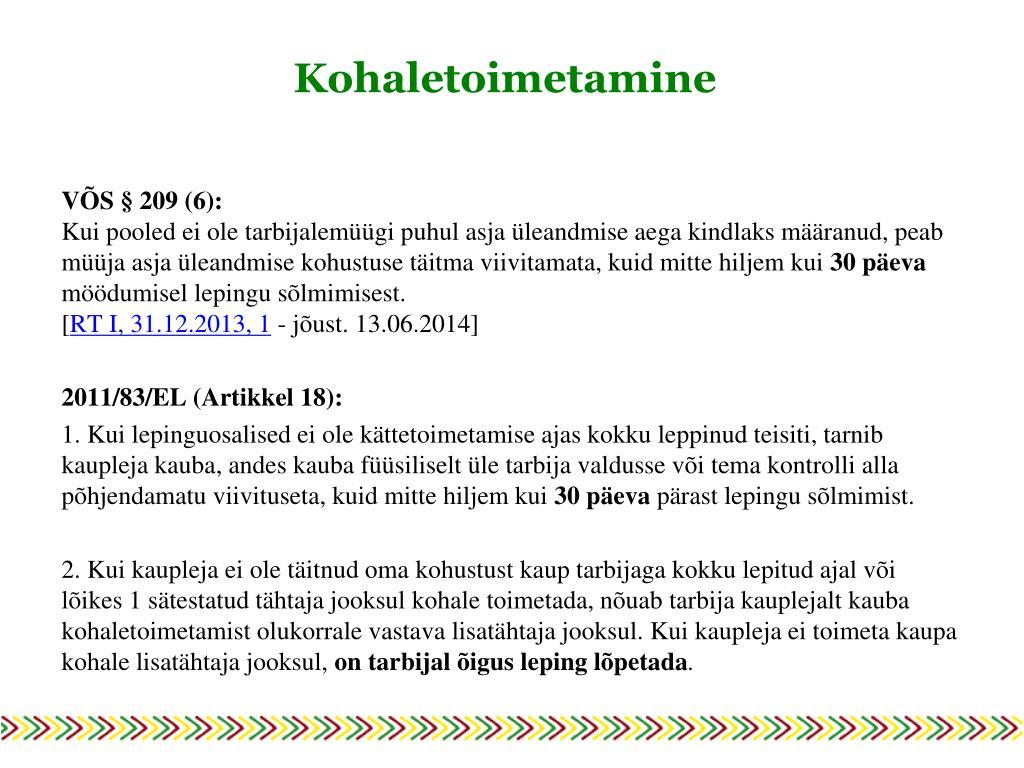 09759a06b86 PPT - 9. oktoober 2014, Tallinn PowerPoint Presentation - ID:6163600