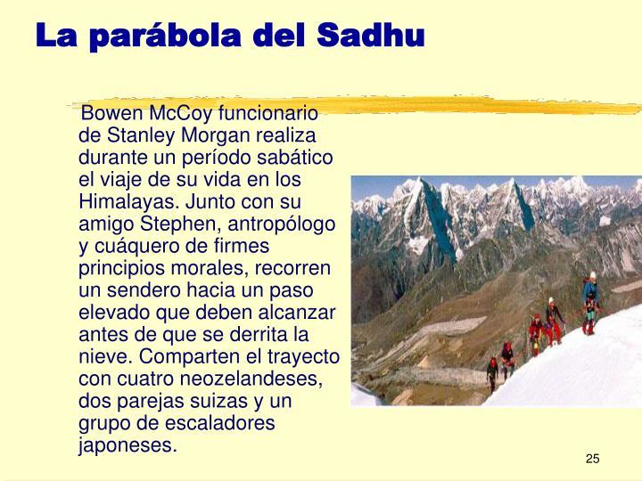 Parabola del sadhu