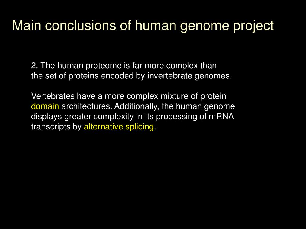 Ppt   The Human Genome Project Dr  Chris
