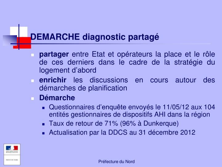 DEMARCHE diagnostic partagé