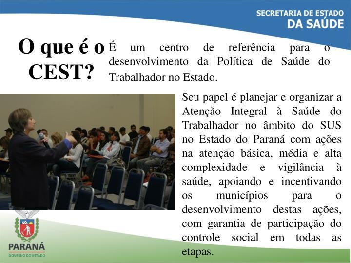 O que é o CEST?