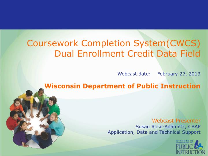 Coursework Completion System(CWCS)