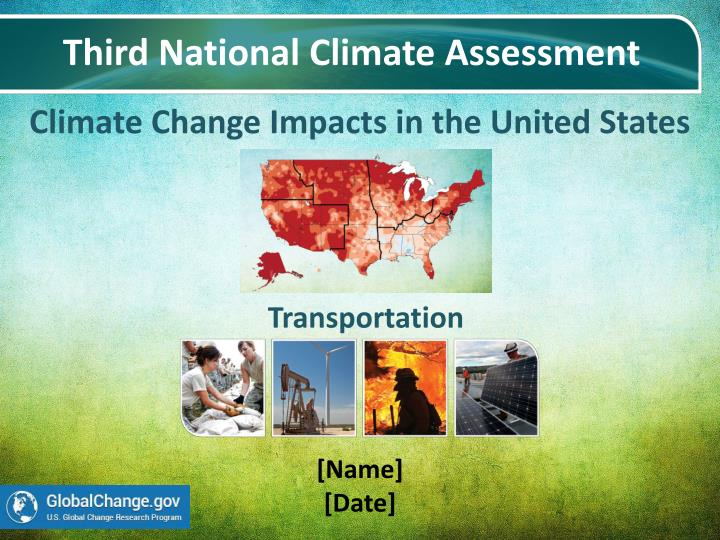 climate change impacts in the united states n.