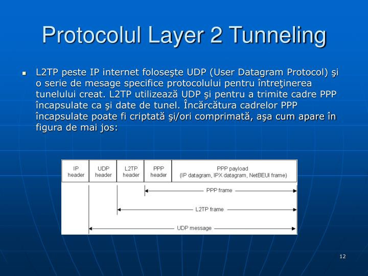 Protocolul Layer 2 Tunneling