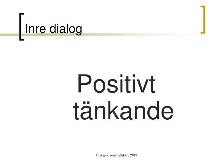 Inre dialog