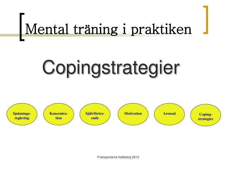 Mental träning i praktiken