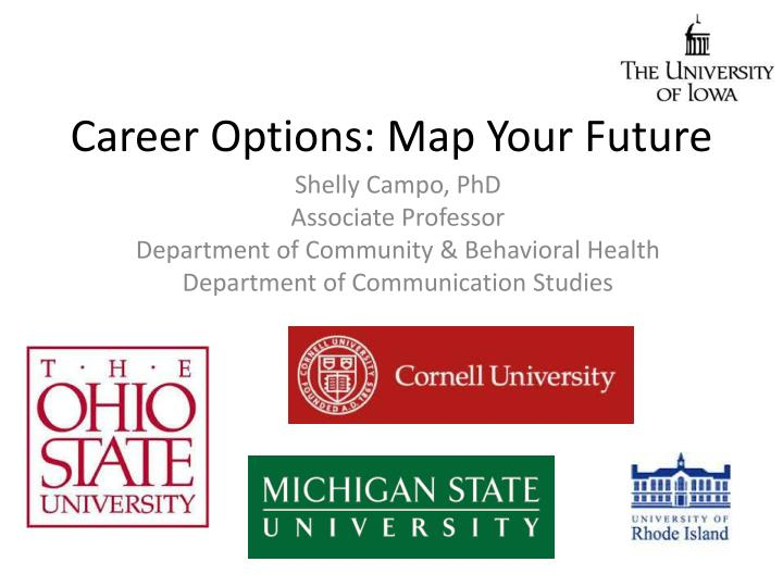 career options map your future n.