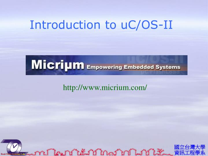 introduction to uc os ii n.