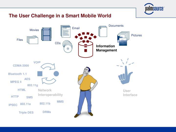The User Challenge in a Smart Mobile World