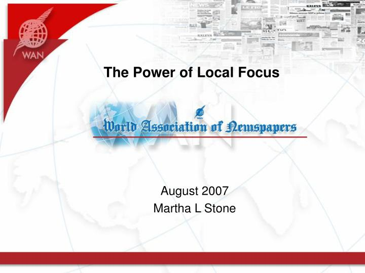 the power of local focus n.