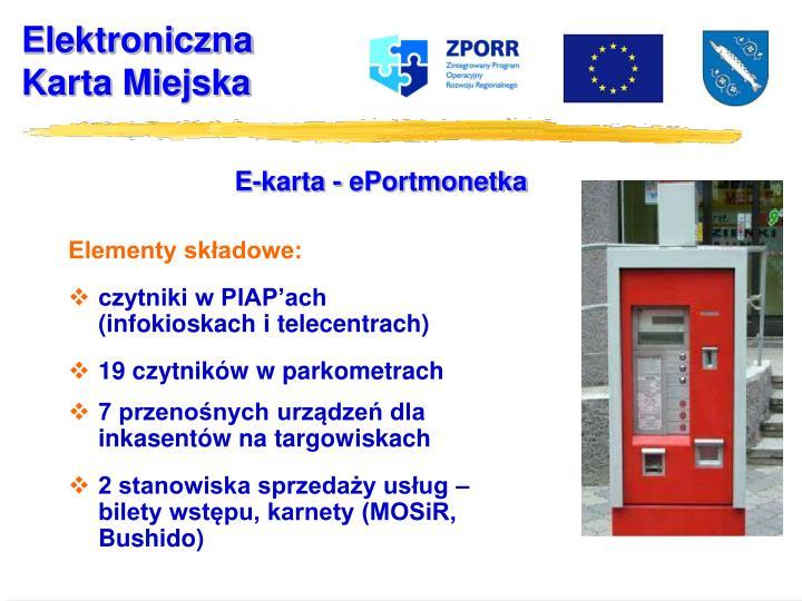 E-karta - ePortmonetka