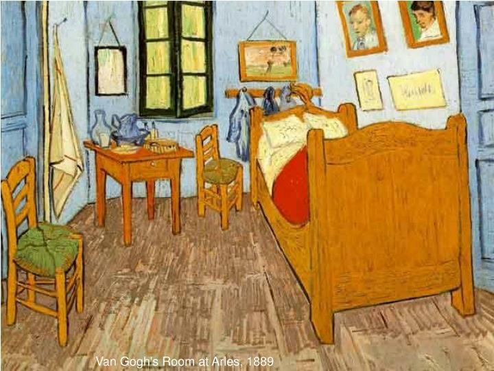Van Gogh's Room at Arles, 1889