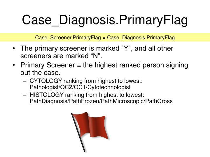 Case_Diagnosis.PrimaryFlag
