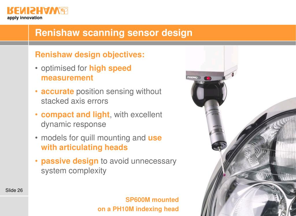 PPT - Renishaw scanning technology PowerPoint Presentation