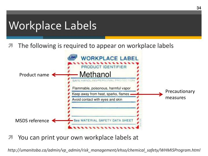 Workplace Labels