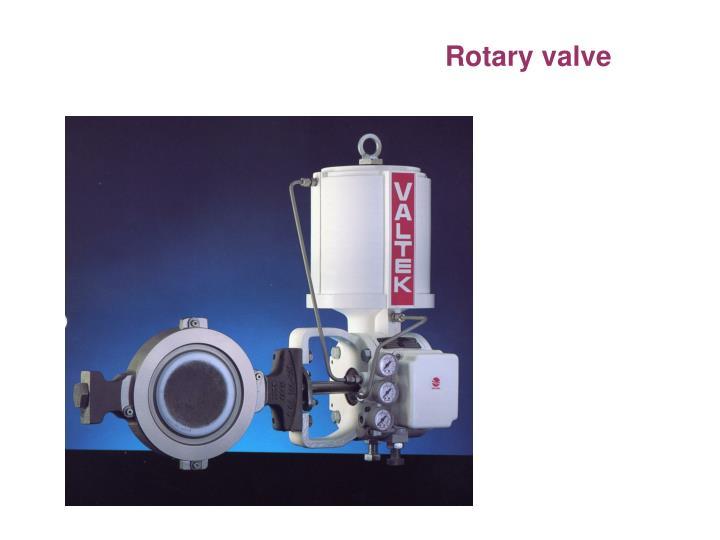 Rotary valve