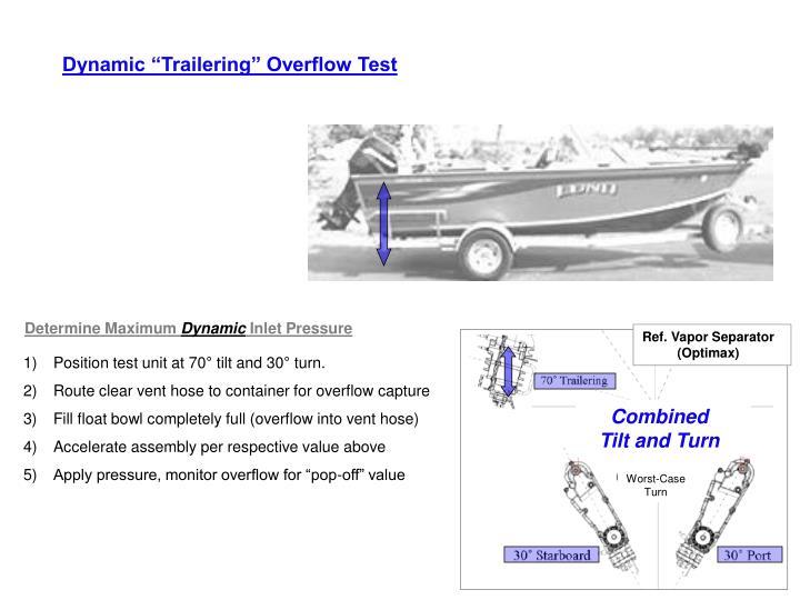 Ref. Vapor Separator (Optimax)