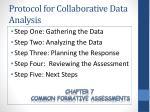protocol for collaborative data analysis