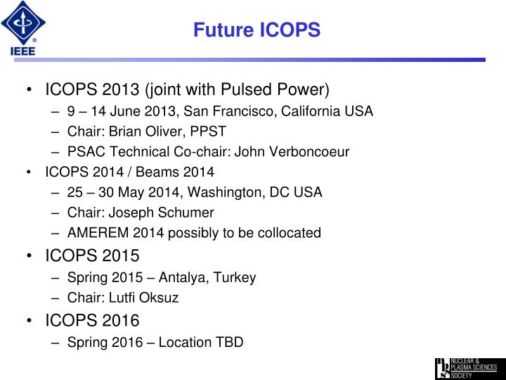 Future ICOPS