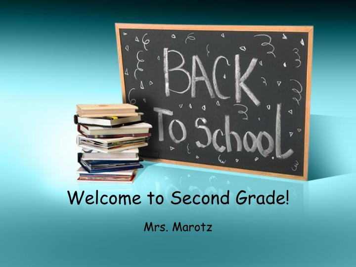 welcome to second grade n.