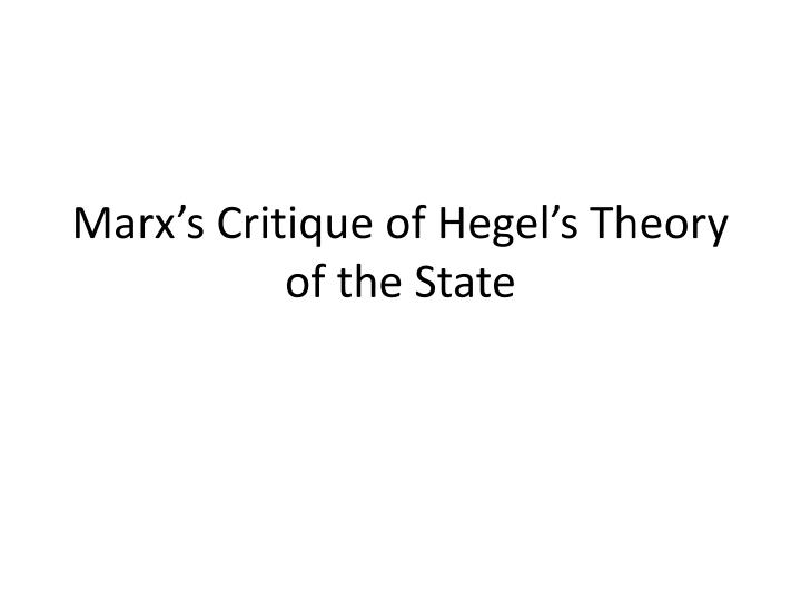 theories of marx human action Template:marxism marx's theory of human nature occupies an important place in his critique of capitalism, his conception of communism, and his 'materialist conception of.