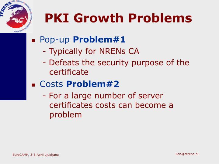 PKI Growth Problems