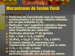 mecanismos de fusi n flash
