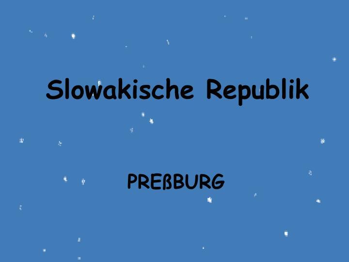 Slowakische