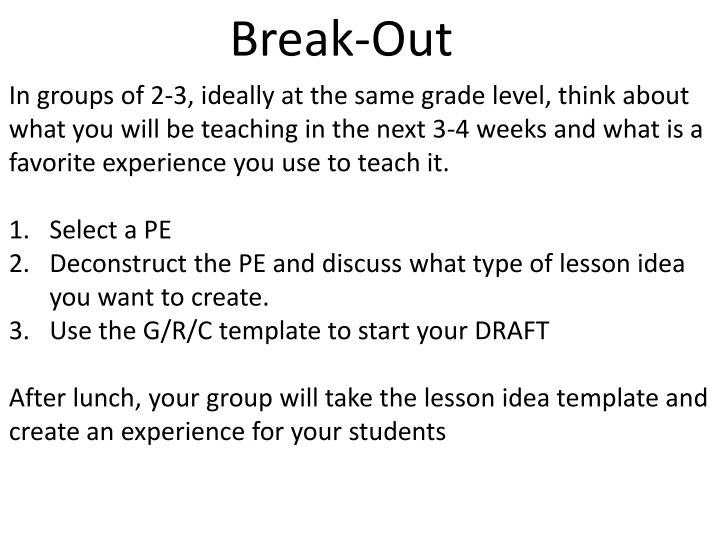 Break-Out