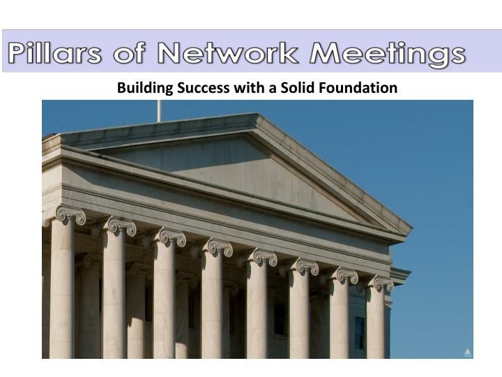 Building Success with a Solid Foundation