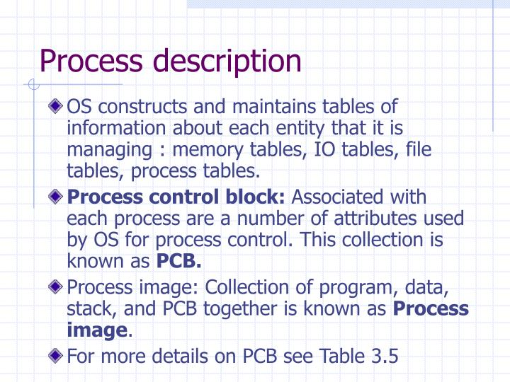 PPT - Process Description and Control PowerPoint Presentation - ID ...