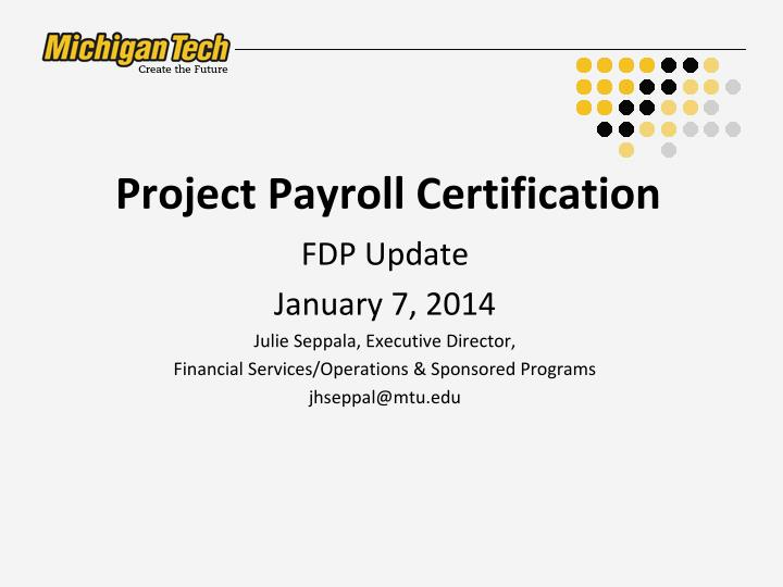 project payroll certification n.