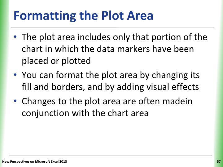 Formatting the Plot Area