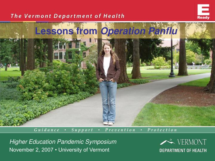 lessons from operation panflu n.