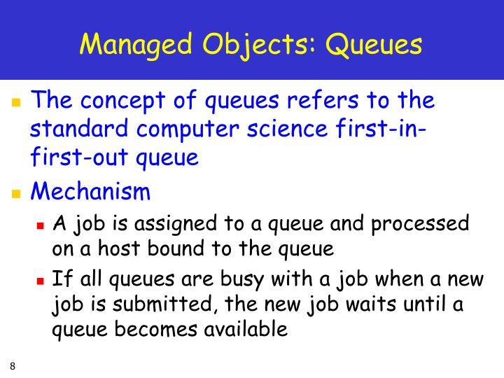 Managed Objects: Queues