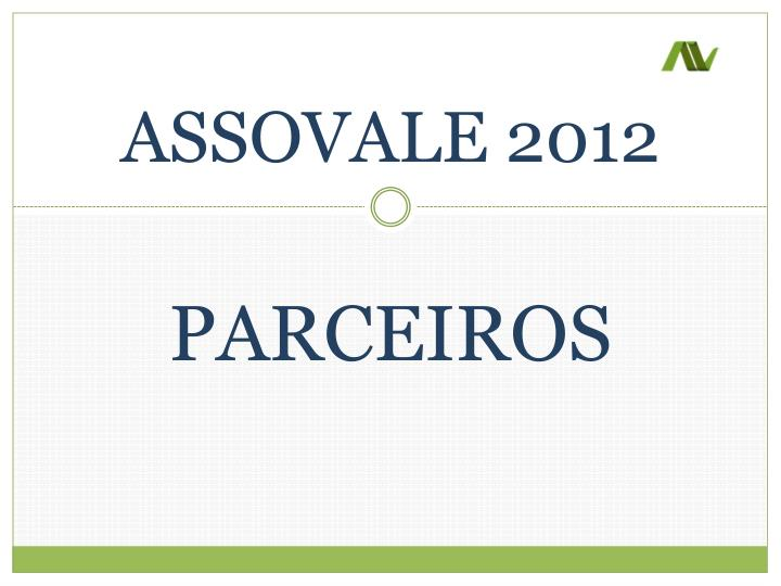 assovale 2012 n.