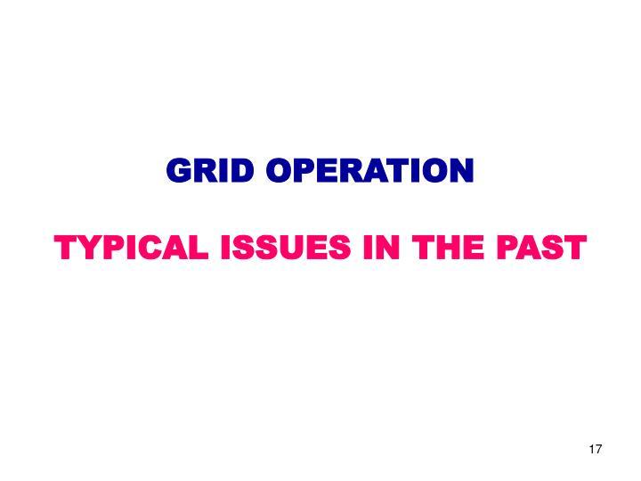 GRID OPERATION