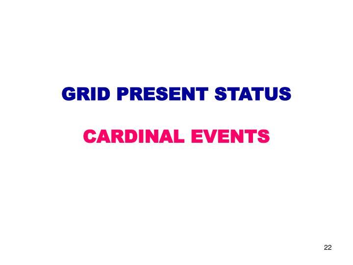 GRID PRESENT STATUS